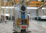 China 125 Ton Power Eccentric Press Machine For Stainless Steel Plate 1250 KN Nominal Force wholesale