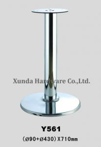 China Made High Quality Shining Steel Table Legs For Restaurant Or - Restaurant table legs for sale
