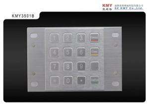 China ATM Machine Metal Encrypted PIN Pad Vandal Resistant with 16 Keys on sale
