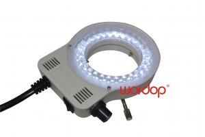 China White Microscope LED Ring Light , Microscope Illumination 20000H on sale