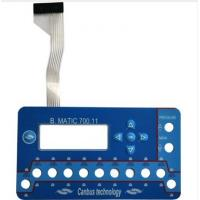 China 20V Push Button Flexible Membrane Switch For Medical Equipment 0.55mm on sale