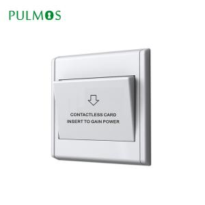 China Hotel room smart Wall light Switch electricity Energy saving switch on sale