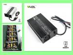 Smart 72V 10A Lithium Battery Charger, 84V 87.6V 88.2V fast charging for Li-ion, LiFePO4 battery