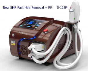 China Painless IPL SHR Machine Fast IPL Laser Hair Removal Intense Pulse Light on sale