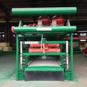 China Driling Cuttings Mud Cleaner desander desilter for oil gas,HDD,TBM on sale