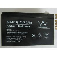 6fm7.2 Deep Cycle Black Charging Lead Acid Batteries With Solar