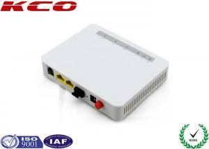 China 1FE 1FE 1VOIP FTTH Active Fiber Optic EPON GPON ONU Without Wifi KCO-2210K on sale