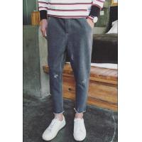 China Regular Rise Men Slim Straight Jeans Leg Designer Jeans Styles on sale