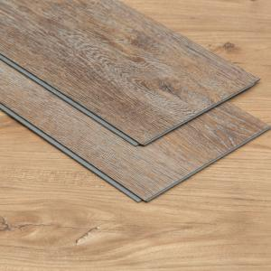China Wood Effect LVT Luxury Vinyl Tile Flooring Planks With Click Installation System on sale