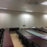 China high quality movable partition glass walls for hotel on sale