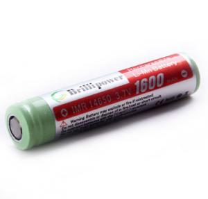 China Brillipower IMR14650 Batteries 1600mAh Li-Mn Rechargeable Batteries on sale