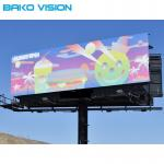 IP67 Outdoor Fixed LED Display Screen Full Color High Brightness Fast Lock Front Service for billboard
