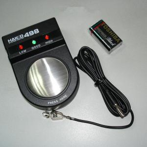 China Black 498 static wrist strap tester, system tester static measurement on sale