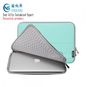 China 11 Inch Soft Neoprene Shockproof Laptop Sleeve For MacBook Air on sale