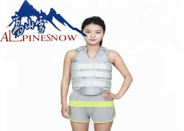 Thermoplastic Thoracic Spinal Orthosis Back Brace With