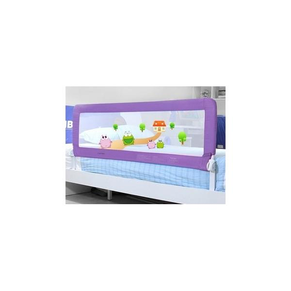 Fashion Pink Baby Bed Rails Cartoon Safe Guard Railing For 1
