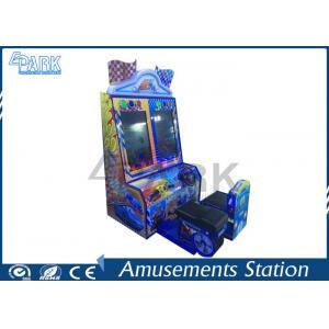 China Kids Happy car simulator arcade racing car game machine on sale