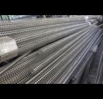 Welded Seam Spiral Perforated Tube For Filtration 6000mm Length Round Hole