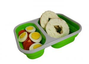 China Keep Fresh Compartment Lunch Box , Bento Lunch Box Heat Resistant on sale