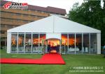 Transparent Sidewalls Wedding Canopy Tent , Light Fim Clear Party Tent