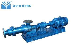 China Stainless Steel Single Rotor Screw Pump For Slurry Pulp Progressive Cavity on sale