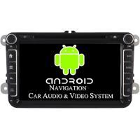 1024 X 600 Pixel Volkswagen DVD GPS Navigation VW Golf Car Stereo 2003 - 2012