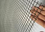 Multifunction Sand Square Hole 4.8mm Dia Crimped Mesh