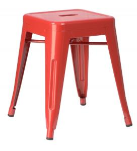 China Comfortable Replica Xavier Pauchard Armless Metal Tolix Chairs With Powder Coating on sale