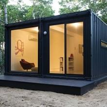 China Low cost prefab tiny container house 20ft manufacturer on sale