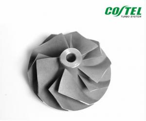 China 6.00mm Shaft Size Billet Compressor Wheel 446335-0010 Aluminum Alloy on sale