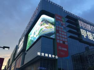 China Outdoor P4 Advertising Led Display Screen Electronic Billboard Signs on sale