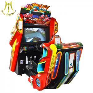 China Hansel Luxury Adult Car Driving Training Simulator Arcade Racing Car Games Electronic Game Machine For Adult factory on sale