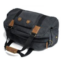 China Canvas Waterproof Duffel Bag Lightweight Luggage Bags Reach European And US Standard on sale