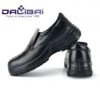 Male Kitchens Working Slip On Safety Toe Shoes Round Toe Anti-Oil
