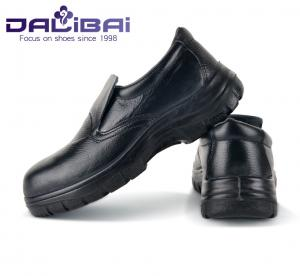 China Male Kitchens Working Slip On Safety Toe Shoes Round Toe Anti-Oil on sale