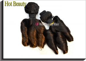 China 8 Inch - 18 Inch Funmi Ombre Human Hair Extensions Grade 6A ,110g / piece on sale