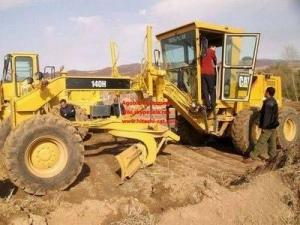 China Cat 140H Motor Grader,Motor Grader, Cat Grader on sale