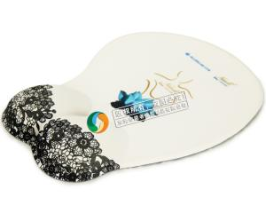 China wrist support mouse pad, custon print wrist mouse pad on sale