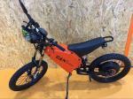 montanha quente Ebike de Enduro Ebike da venda de 72V 8000W com velocidade rápida 12km/h