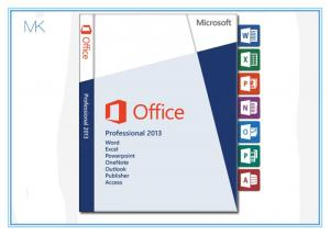 China DVD + Key Card Microsoft Office Professional 2013 Retail Box 32 Bit 64bit 100% Activation Online on sale