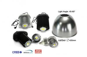 China Cree LED High Bay Lights 85-265 Vac Input With Bridgelux Integrated Chips on sale