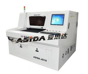 China Small Laser PCB Depaneling Machine / CNC Cutting Machine With CE RoHS on sale