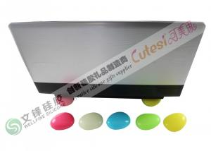 China Customize Cobblestone Shape Silicone Gel Products for Laptop on sale