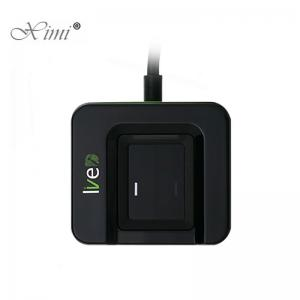 China Live ID Bio USB Fingerprint Scanner , Digital Fingerprint Scanner 2 Million Pixels CMOS on sale