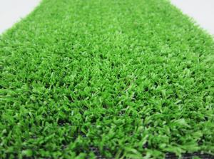 China Green 2200Dtex Artificial Synthetic Grass , Door Mats Outdoor Fake Grass Carpet on sale
