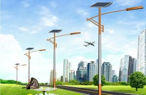 China Waterproof Solar Powered Exterior Lights Fixtures Anti Humidity ISO CE on sale