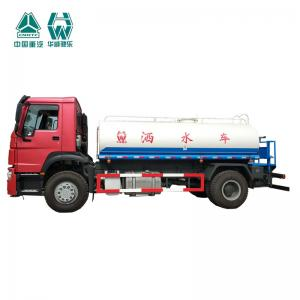 China Radial Tyre Commercial Water Bowser Truck / High Power Water Transport Tank on sale