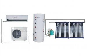 China Trinity System Solar Central Air Conditioner Cooling / Heating Air In Summer / Winter on sale