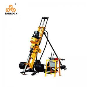 China 3KW Electric Motor Small Air Controlled DTH Drilling Rig on sale