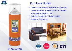 China Household Care Highly Efficient Furniture Polish Aerosol Can Anti-UV and Eco-friendly on sale